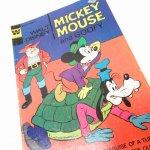 ディズニー  ミッキーと仲間たち ミッキーとグーフィー その2 1970年代コミックブック