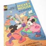 ディズニー  ミッキーと仲間たち ミッキーとグーフィー その3 1970年代コミックブック