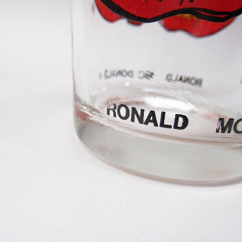 マクドナルド 1970年代 ロナルド コレクターズシリーズ VerII グラス A【画像5】