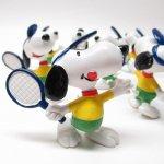 スヌーピー PVC フィギュア テニス デッドストック<大量入荷につき期間限定特別価格ご奉仕品>