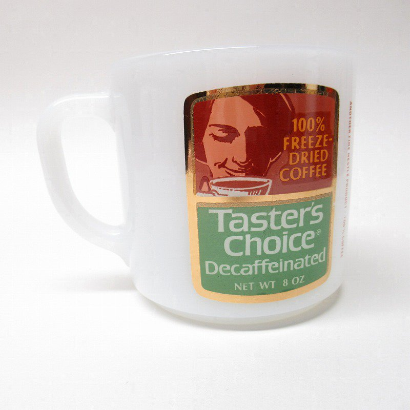 フェデラルグラス ネスレ マグ Taster's Choice 緑 A【画像4】