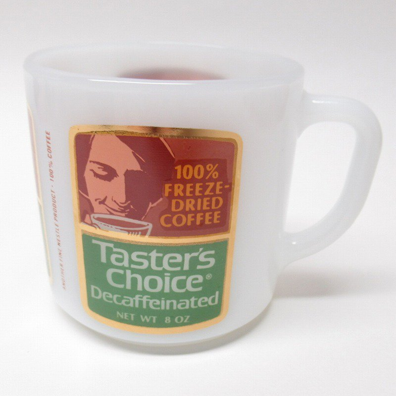 フェデラルグラス ネスレ マグ Taster's Choice 緑 C