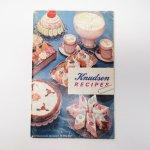 ブックス  レシピブック 1962年 Knudsen社レシピ