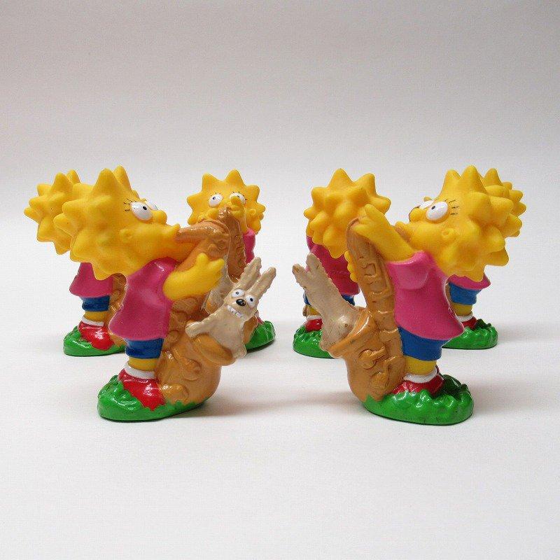 シンプソンズ リサとサックス ソフビフィギュア 1990年【画像2】