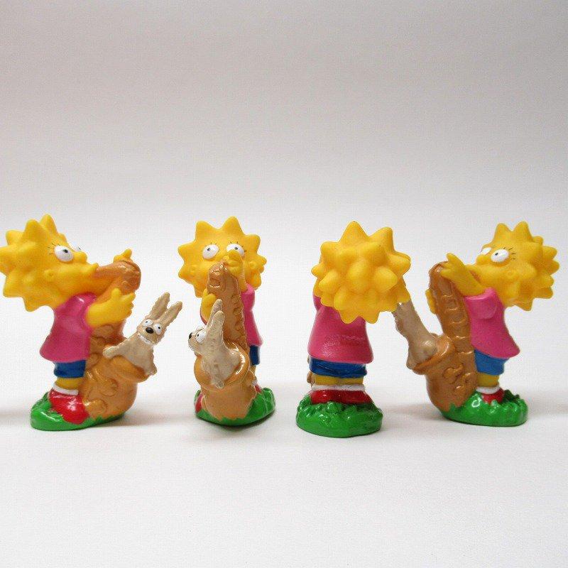 シンプソンズ リサとサックス ソフビフィギュア 1990年【画像4】