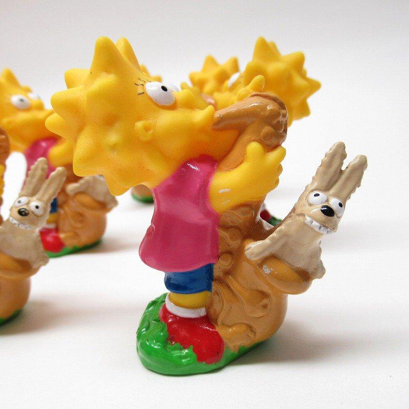 シンプソンズ リサとサックス ソフビフィギュア 1990年【画像7】