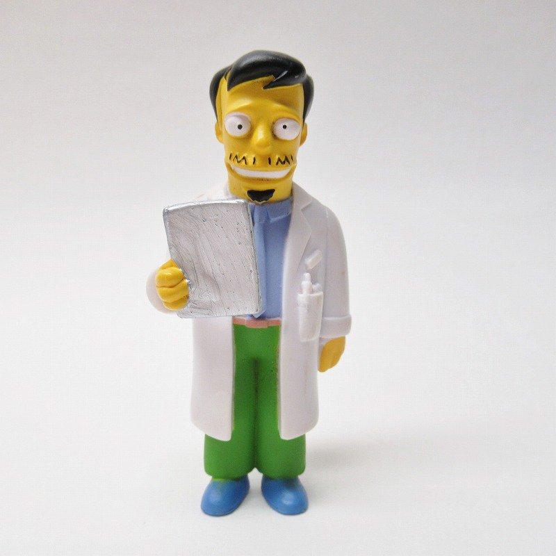 シンプソンズ Dr. Nicholas Riviera M.D. PVCトイ 2000年