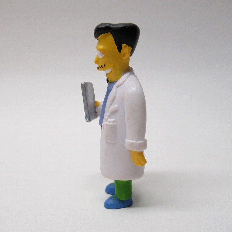 シンプソンズ Dr. Nicholas Riviera M.D. PVCトイ 2000年【画像2】