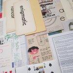 チケット、スコアパッドなどの紙物・紙モノ雑貨  紙モノアソート 1930年代〜 ビッグセット B
