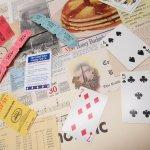 チケット、スコアパッドなどの紙物・紙モノ雑貨  紙モノアソート 1930年代〜 ビッグセット F