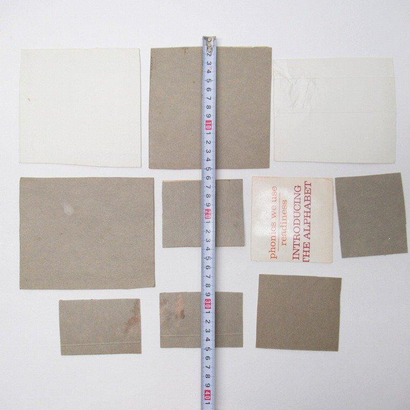紙モノアソート 1950年代〜 子供単語学習用 イラストセット C【画像3】