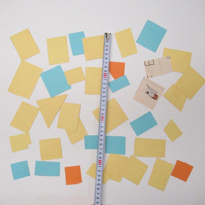 紙モノアソート 1950年代〜 子供単語学習用 イラストセット H【画像3】