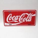 リビング  コカコーラ メタル製 2000年製造 ライセンスプレート