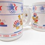 キッチン  イーグルサム ロサンゼルス オリンピック 水泳 陶器製マグ 1984年 デッドストック