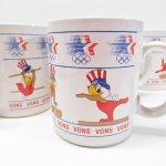 キッチン  イーグルサム ロサンゼルス オリンピック 体操 陶器製マグ 1984年 デッドストック