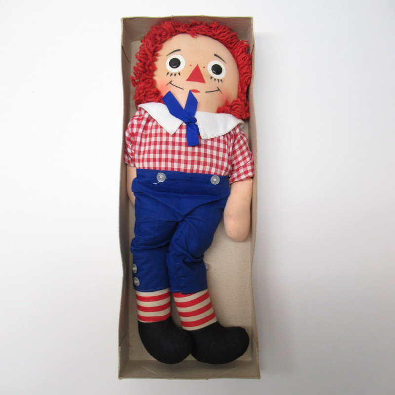ラガディ アンディー お人形 ニッカーボッカー社 箱付き【画像2】