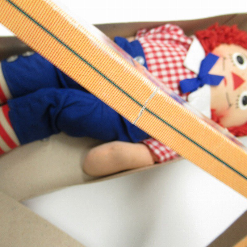 ラガディ アンディー お人形 ニッカーボッカー社 箱付き【画像5】