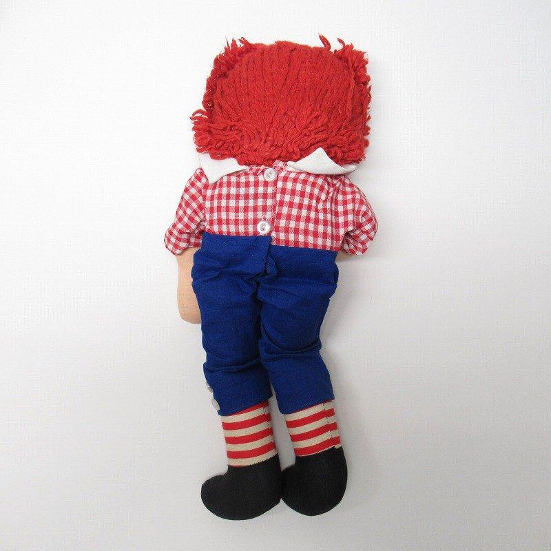 ラガディ アンディー お人形 ニッカーボッカー社 箱付き【画像7】