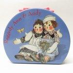 キッチン  ラガディアン & アンディー ハンドバッグ風ティン缶