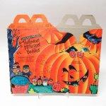 マクドナルド ミールトイ用 紙製ボックス 1993年 ハロウィンナゲット