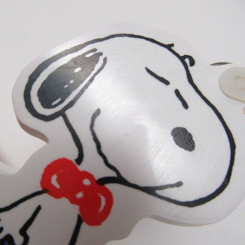 スヌーピー キーホルダー ソフビ製 ブルーバッグ【画像4】