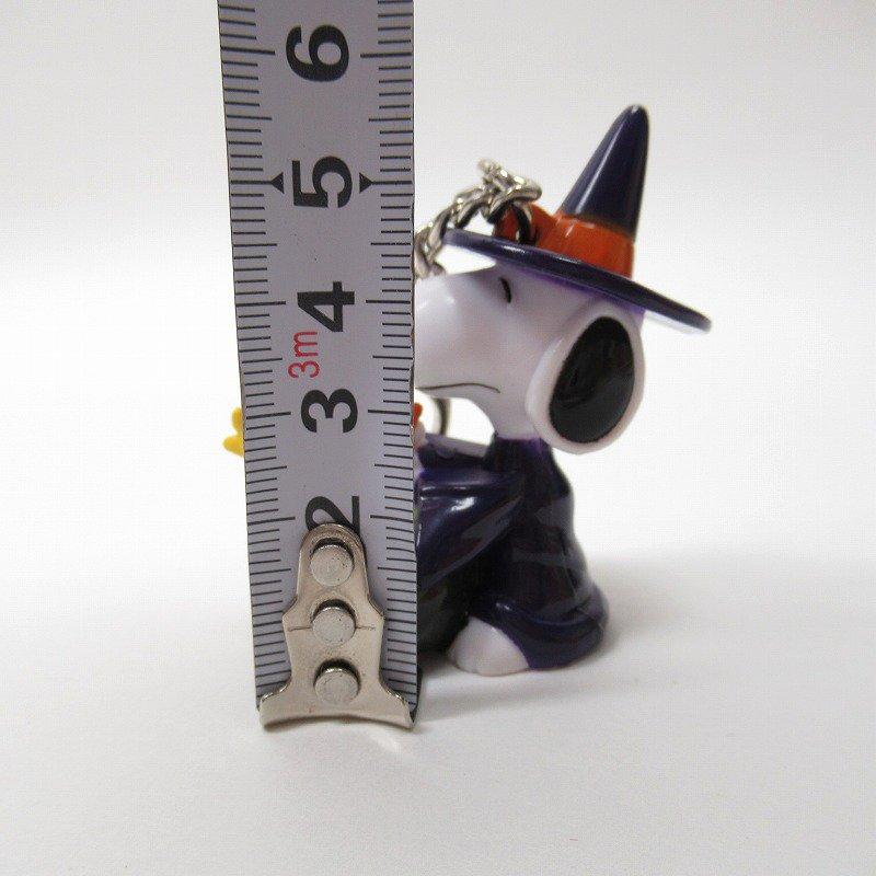 スヌーピー キーホルダー PVC製 ハロウィン ウィッチ【画像8】