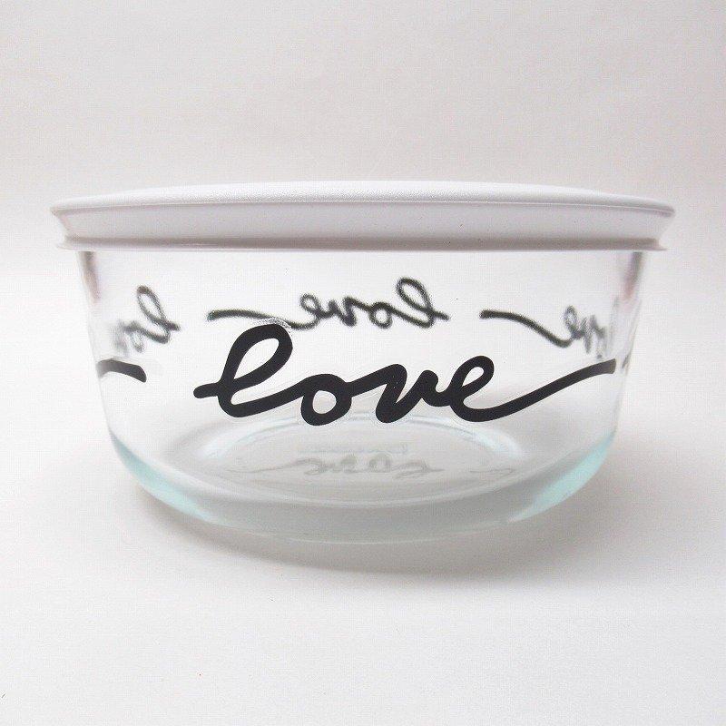 パイレックス 4カップ 並行輸入品 保存容器 Love