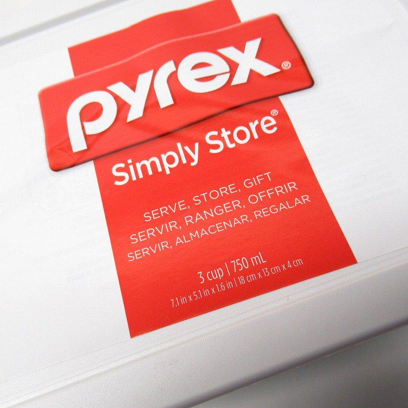 パイレックス 3カップ 並行輸入品 長方形保存容器 Cheers【画像3】