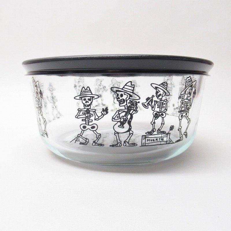 パイレックス 4カップ 並行輸入品 ハロウィンスケルトン