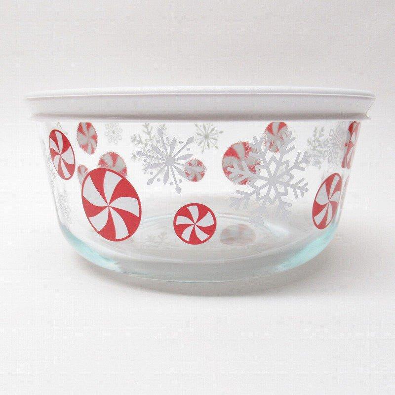 パイレックス 4カップ 並行輸入品 クリスマスキャンディー