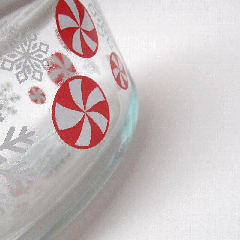 パイレックス 4カップ 並行輸入品 クリスマスキャンディー【画像2】