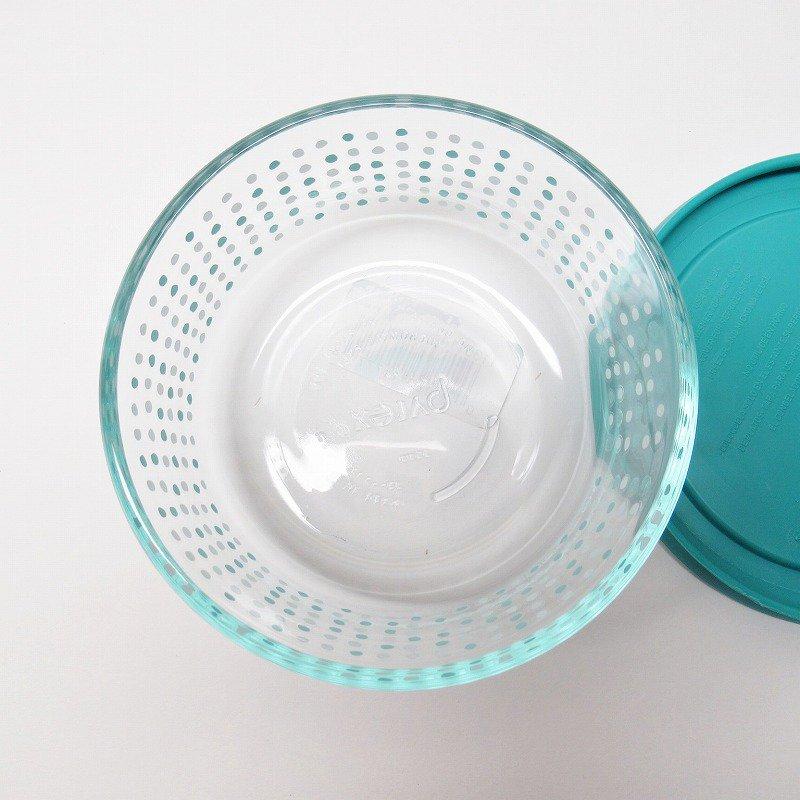 パイレックス 2カップ 並行輸入品 アクアブルー&ホワイトドット【画像6】