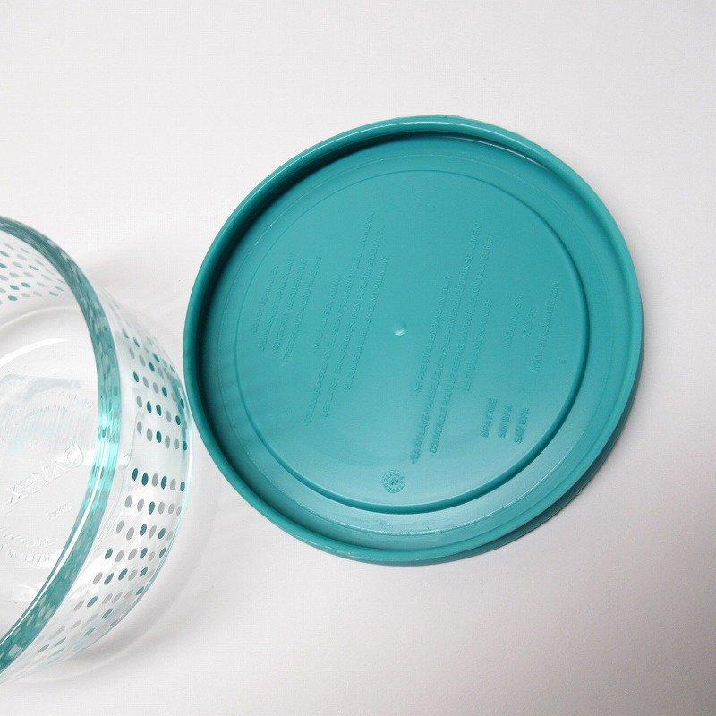 パイレックス 2カップ 並行輸入品 アクアブルー&ホワイトドット【画像7】