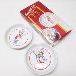 キッチン  キャンベル 1992年 キャンベルキッズ 陶器製スプーンレスト2個セット 未使用