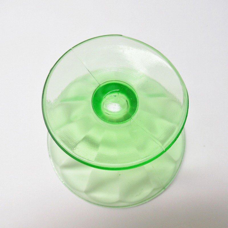 フェデラルグラス ディプレッショングラス ワセリンカラー シャーベットカップ アウトレット A【画像8】
