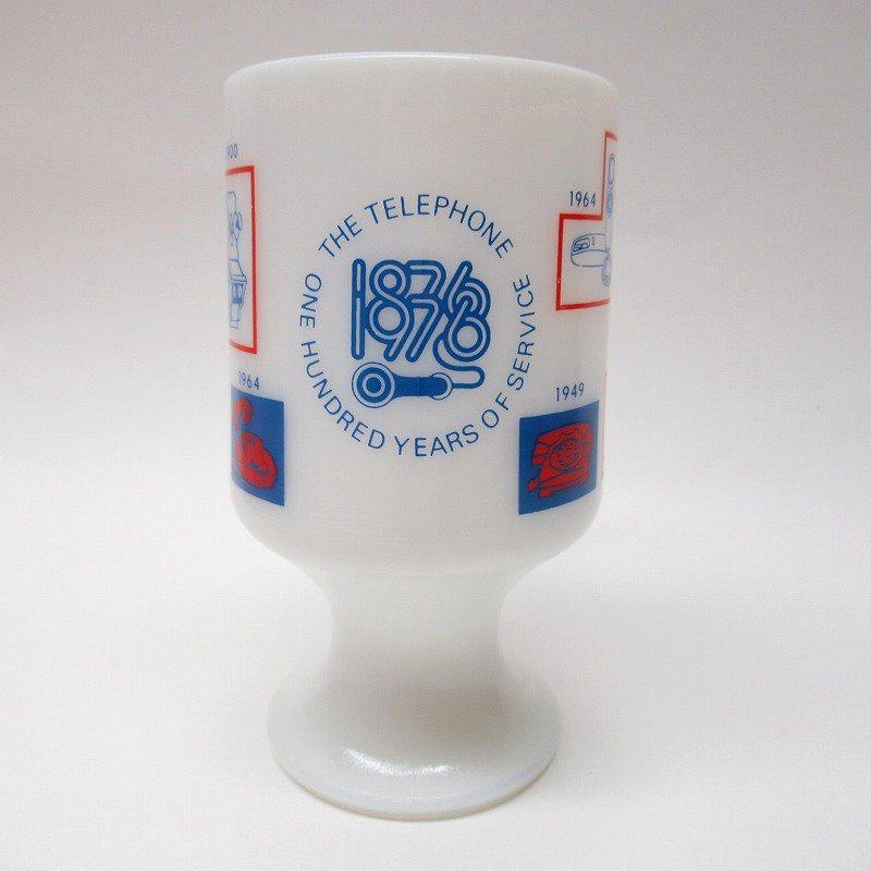 フェデラルグラス 1976年 電話100周年記念 フッテッドマグ【画像2】