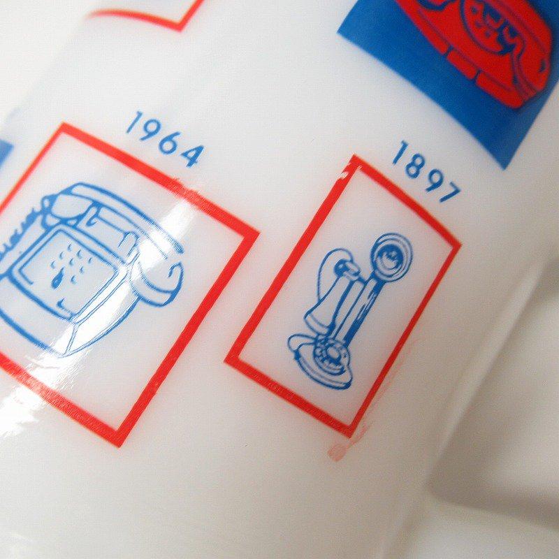 フェデラルグラス 1976年 電話100周年記念 フッテッドマグ【画像10】