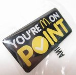 マクドナルド  マクドナルド 並行輸入品 ピンズ POINT