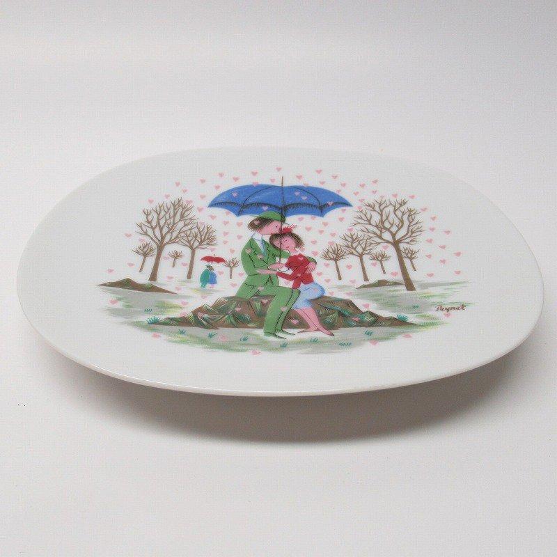 ローゼンタール ドイツ製 レイモンペイネの恋人たち ハートの雨プレート【画像12】