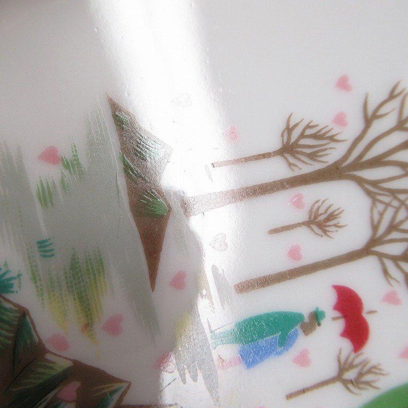 ローゼンタール ドイツ製 レイモンペイネの恋人たち ハートの雨プレート【画像4】