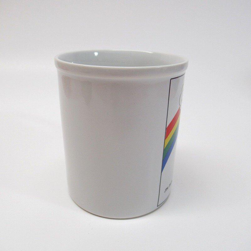 ガーフィールド 米国輸出用日本製 80年代 陶器製マグ オリジナルラベル付【画像2】