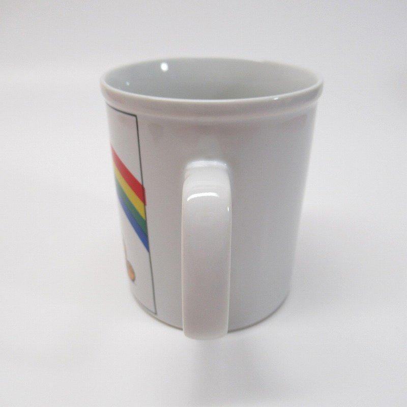 ガーフィールド 米国輸出用日本製 80年代 陶器製マグ オリジナルラベル付【画像3】