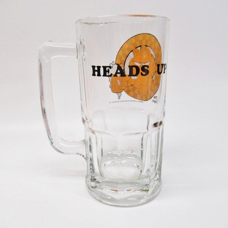 ガーフィールド 特大 ビアジョッキグラス HEADS UP【画像5】