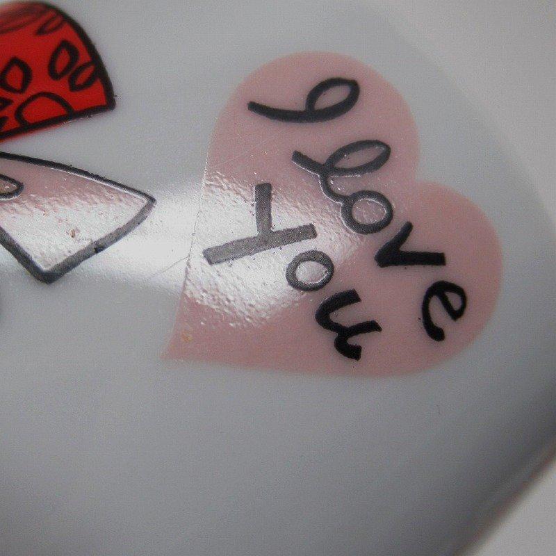 昭和レトロ 米国輸出用日本製 I LOVE YOU 陶器製 スリムマグ【画像12】