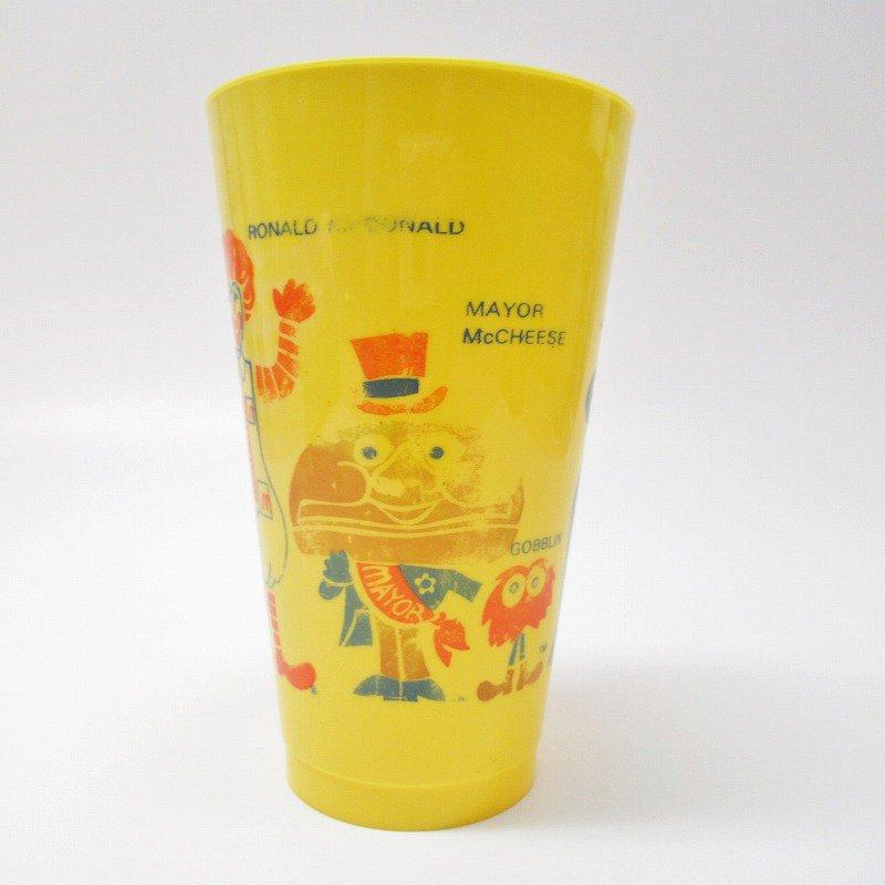 マクドナルド 1970年代 キャラクター プラスチック製タンブラー 黄色【画像2】