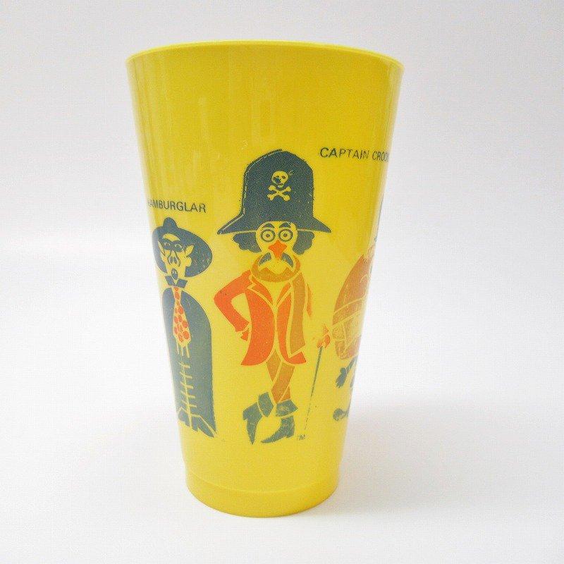 マクドナルド 1970年代 キャラクター プラスチック製タンブラー 黄色【画像4】