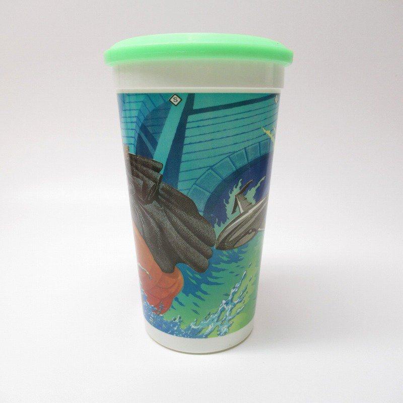 マクドナルド 1992年 バットマンリターンズ プラスチック製カップ 蓋付【画像2】