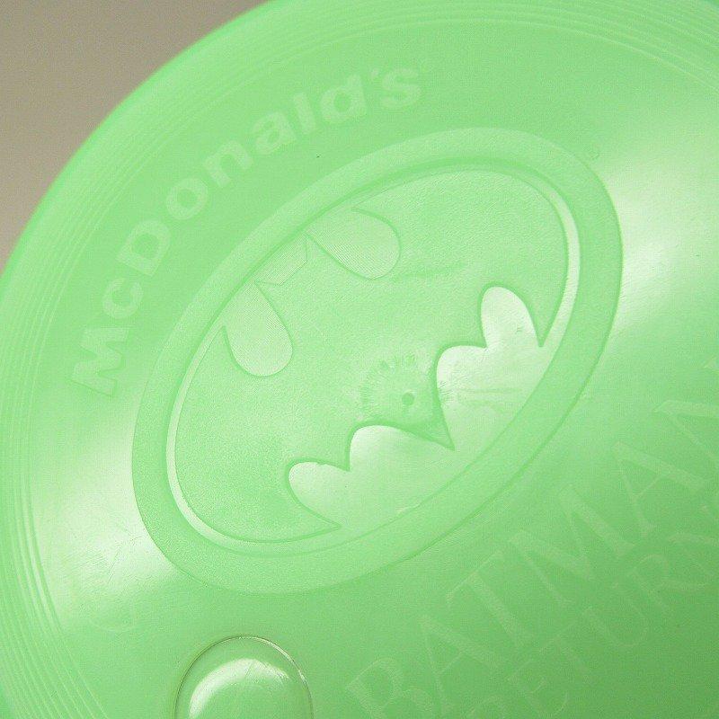 マクドナルド 1992年 バットマンリターンズ プラスチック製カップ 蓋付【画像8】