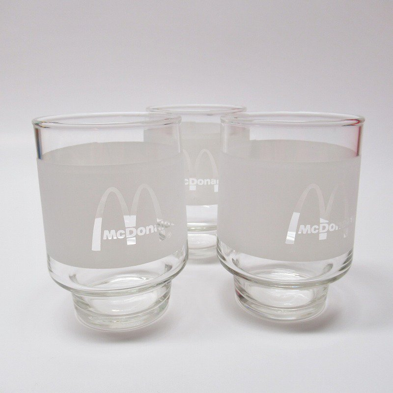 マクドナルド 1980年代 ジュースグラス