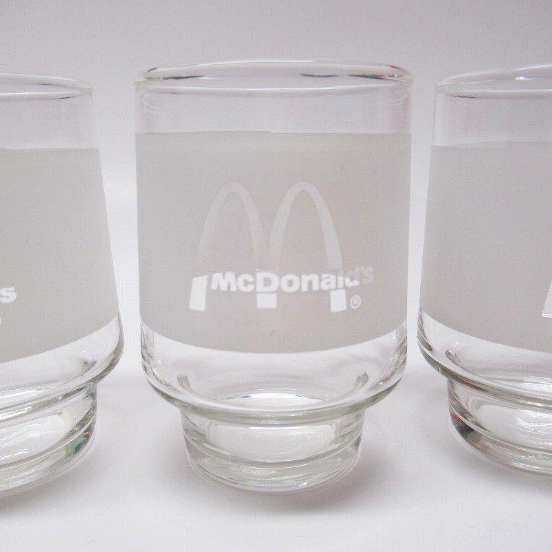 マクドナルド 1980年代 ジュースグラス【画像3】